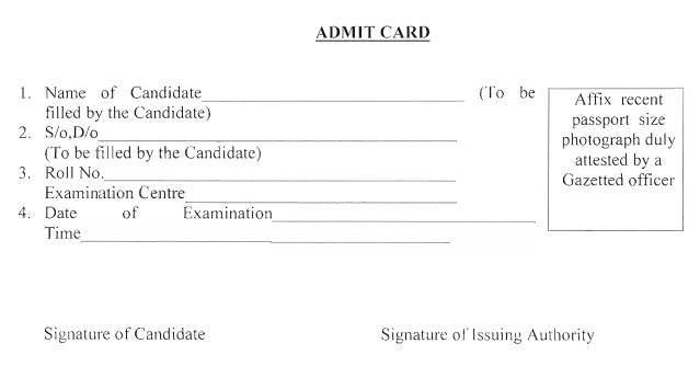 HP Patwari Exam Date & Admit Card 2019