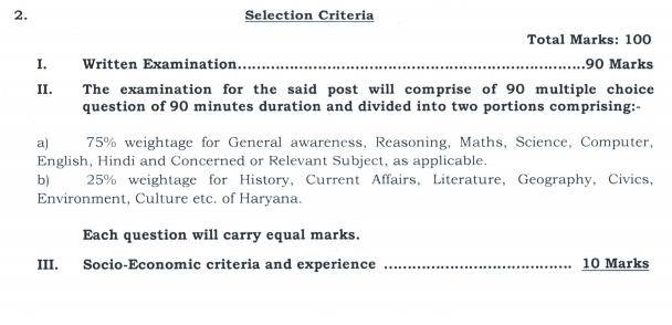 HSSC Admit Card 2019