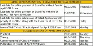 TNDTE Diploma Hall Ticket Oct 2019