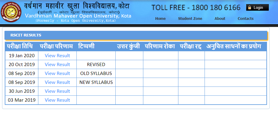 RSCIT Exam Date 2021 Rajasthan RKCL New Exam Dates