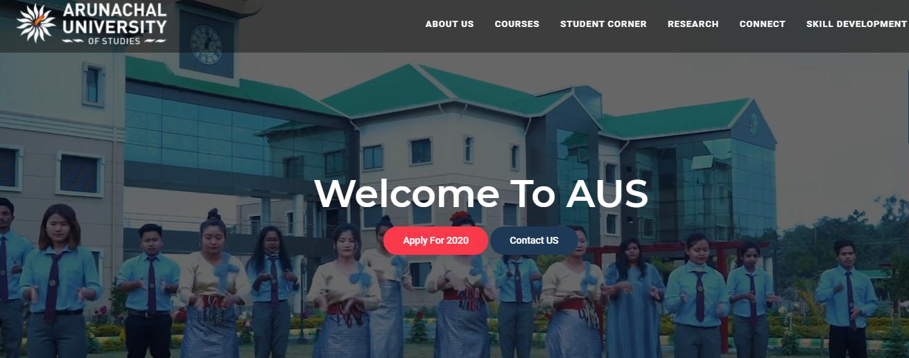 Arunachal university 1st Year Time Table 2021