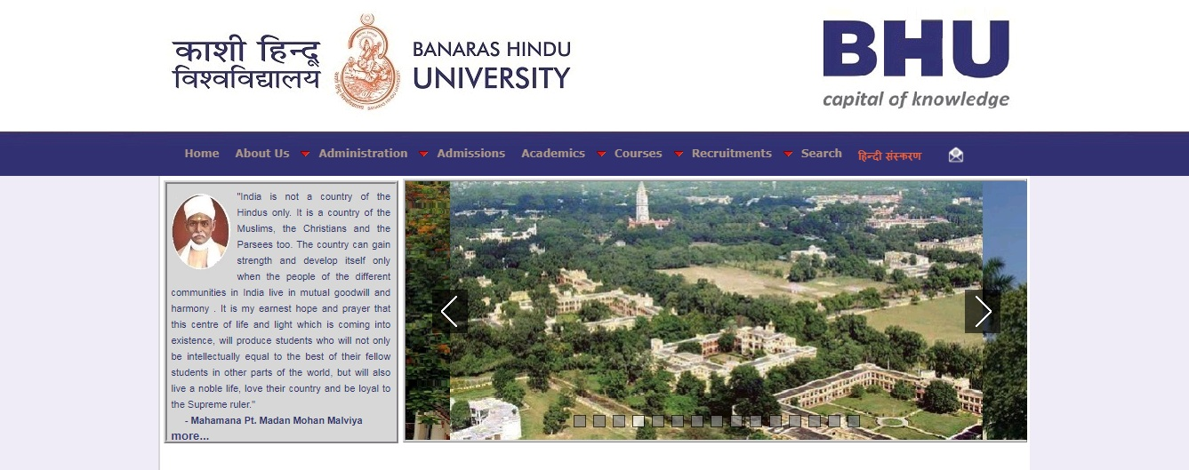 BHU BA 3rd Year Time Table 2021