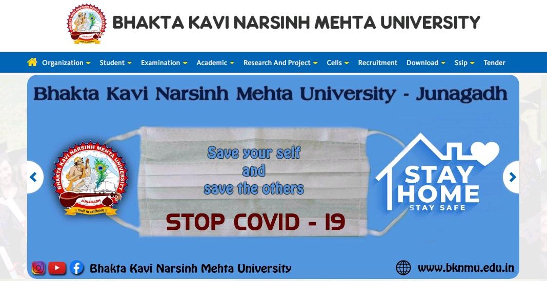 BKNMU University BA Part 3rd Year Result NC / Regular 2021