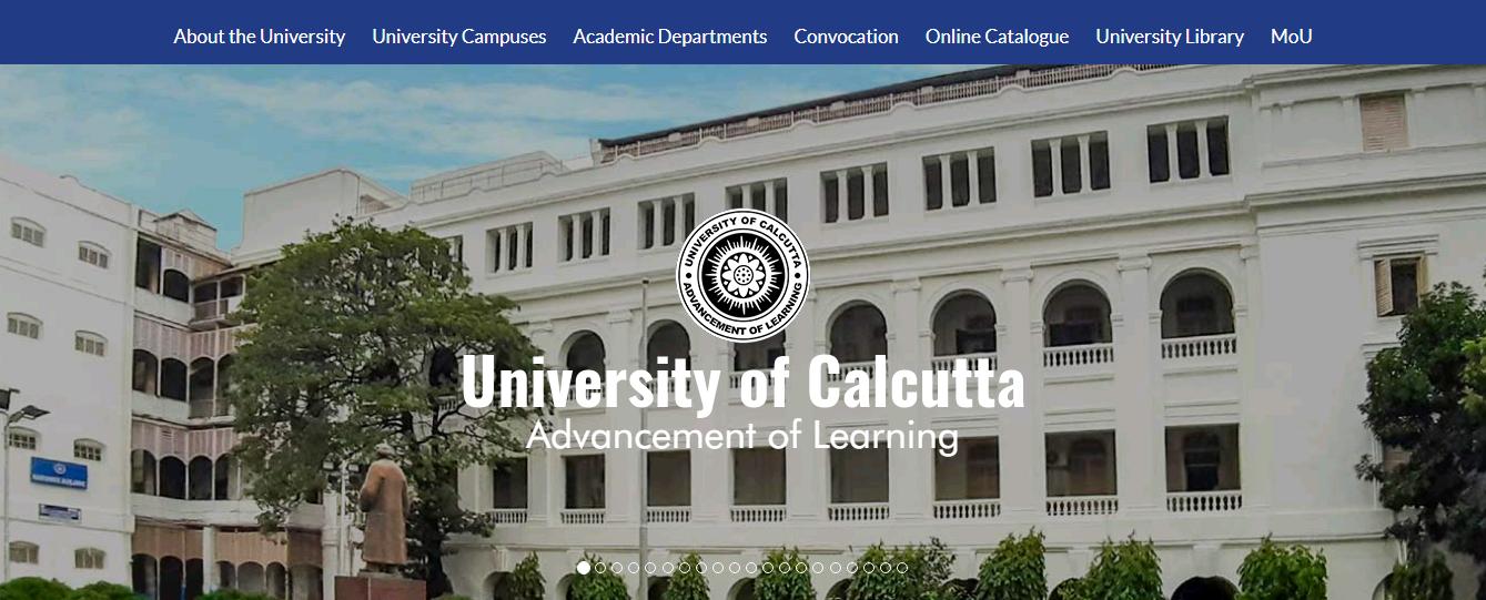Calcutta University B.Com 3rd year Time Table